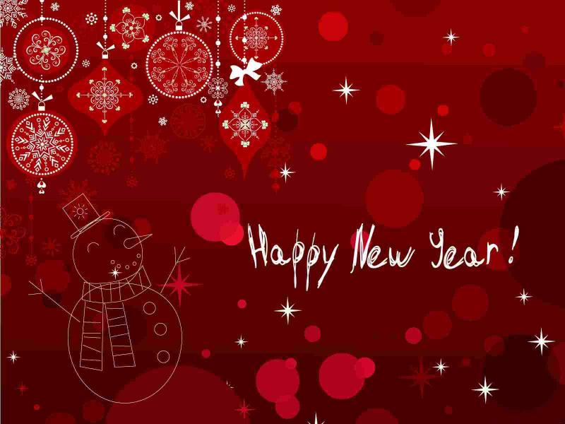 New Year Banne Happy Backgrounds