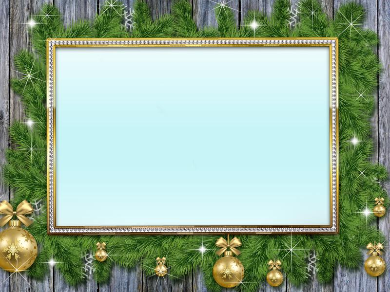 New Year Frame Backgrounds