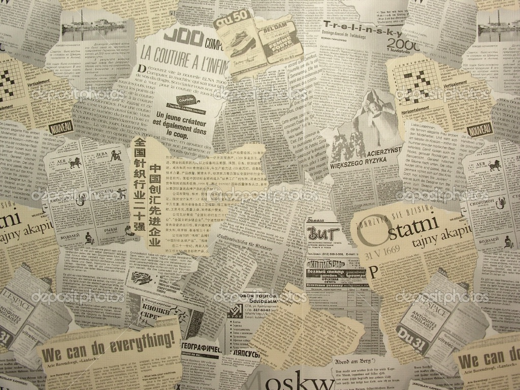 Newspaper Newsprint Images Backgrounds
