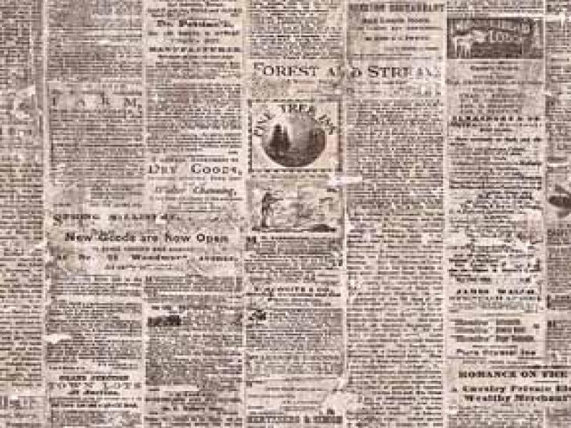 Newsprint Old Presentation Backgrounds