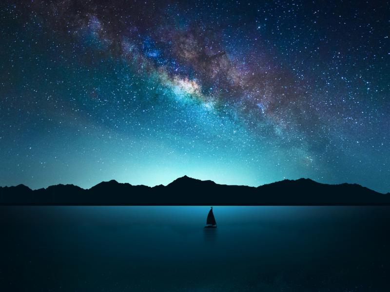 Night Sky Hd High Resolution Starry Night Sky Graphic Backgrounds