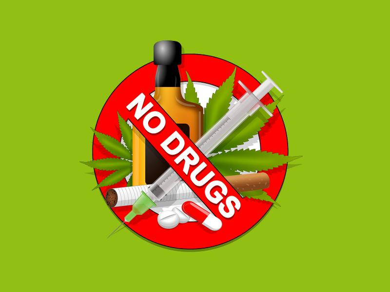 no drugs backgrounds for powerpoint templates