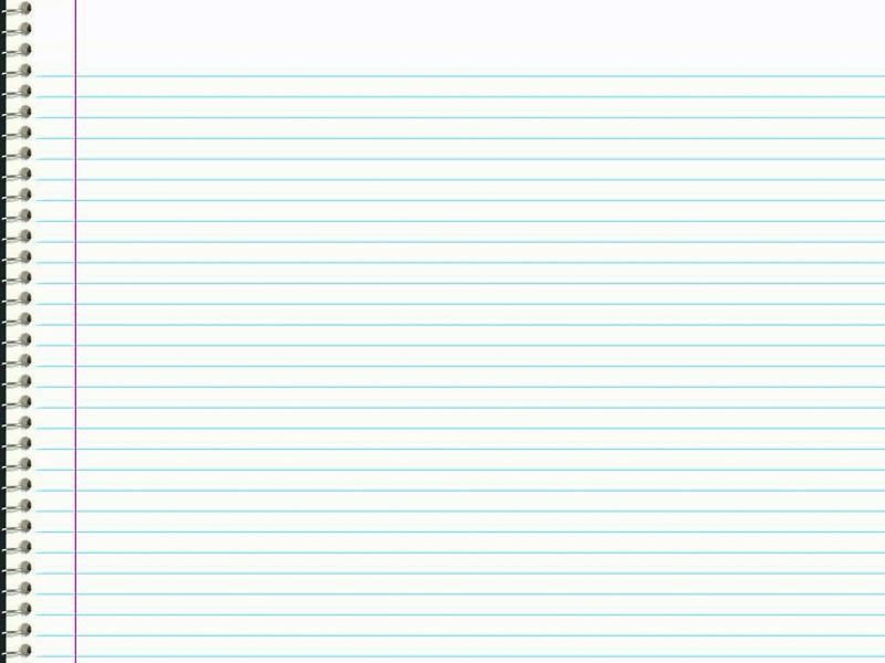Notebook Paper Design Backgrounds