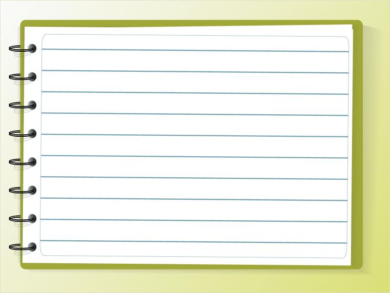 Notebook Paper For  Clipartsgram Backgrounds