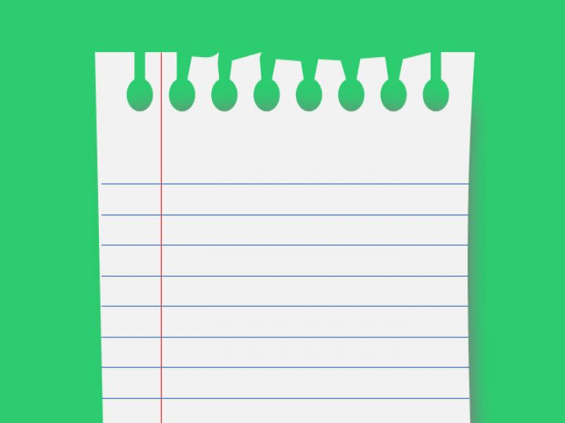 Notebook Paper Graphic Powerpoint Quality Backgrounds For Powerpoint