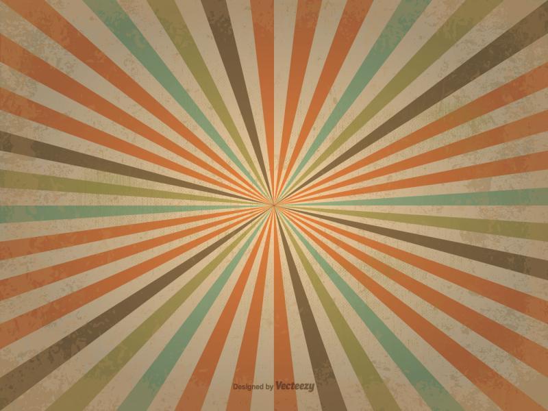 Old Retro Sunburst  Free Vector Art Stock   Slides Backgrounds