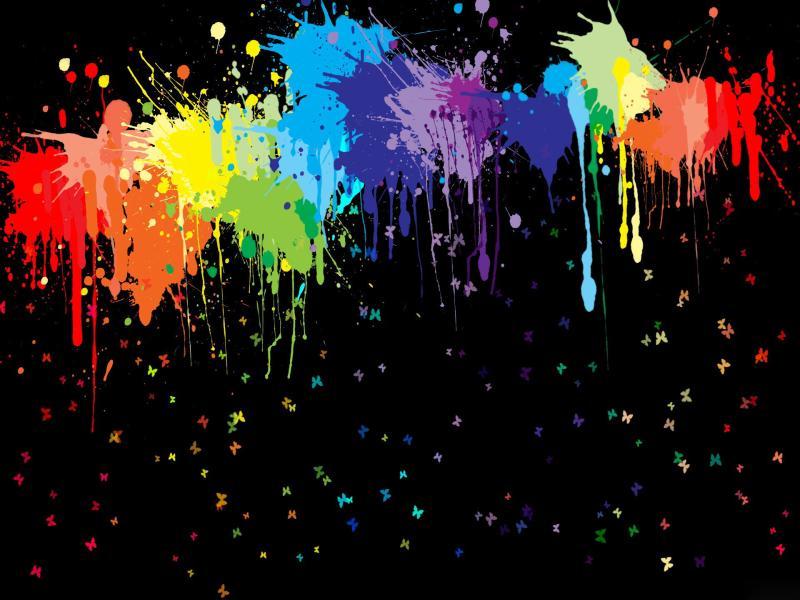 Paint Splash Backgrounds