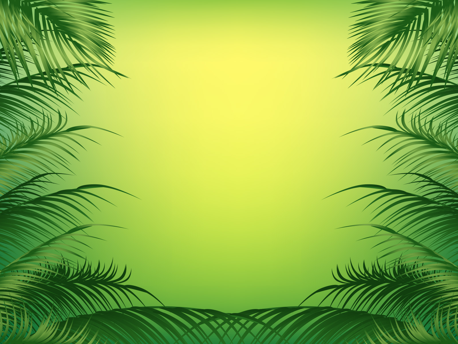 Palm frame backgrounds for powerpoint templates ppt backgrounds toneelgroepblik Image collections