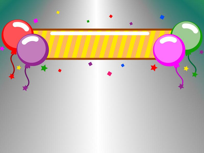 Party Banner Backgrounds
