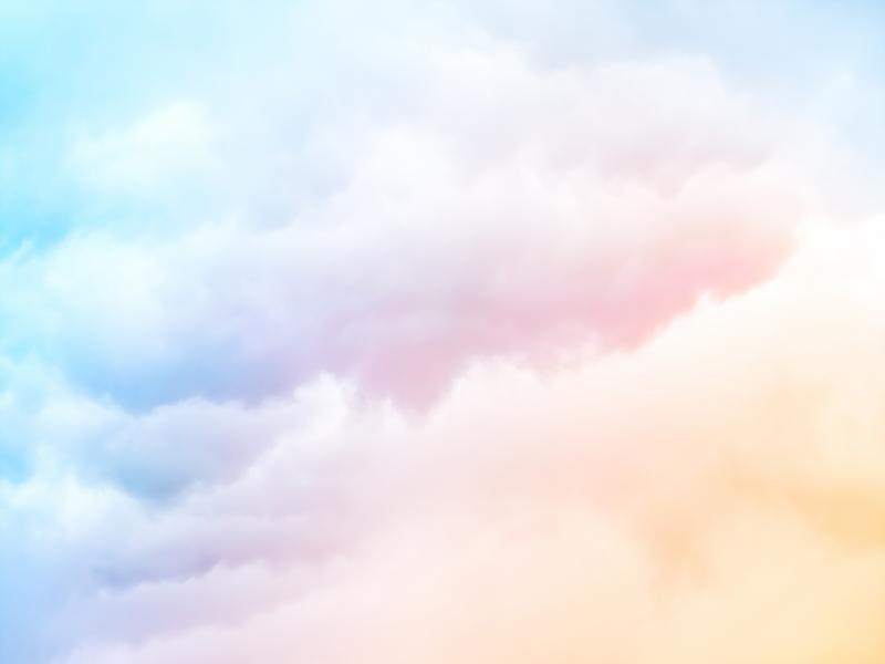 Pastel Clouds Presentation Backgrounds