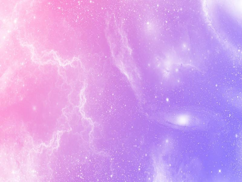 Pastel Galaxy Art Backgrounds For Powerpoint Templates