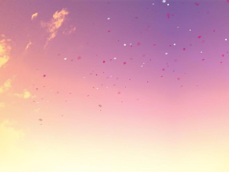 Pastel Sky Face Art Backgrounds For Powerpoint Templates Ppt