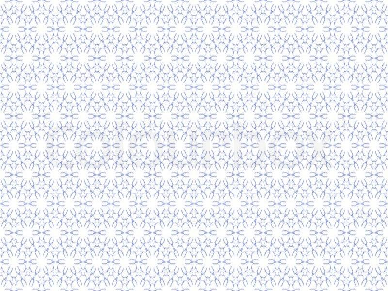 Pattern On The White Backgrounds