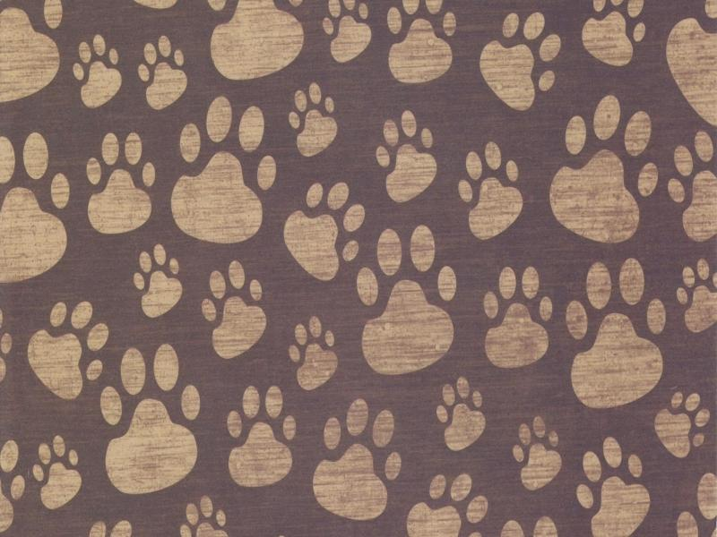 Paw Print Surface Pattern Backgrounds