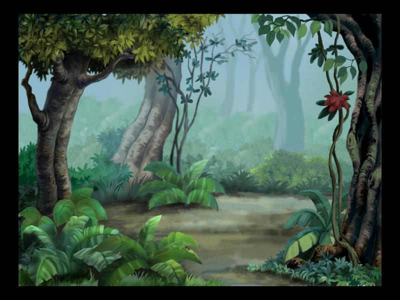 pics photos cute jungle backgrounds for powerpoint templates ppt