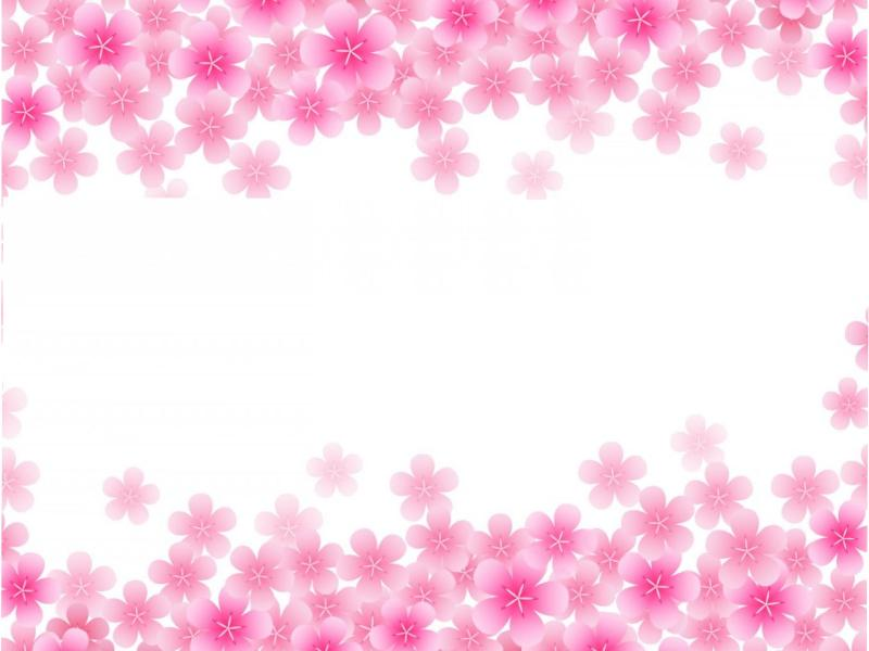 Pink Blooming Backgrounds