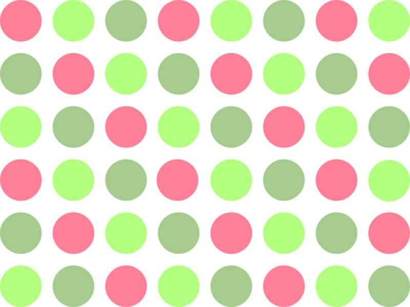 Polka Dots Clip Art Backgrounds for Powerpoint Templates ...