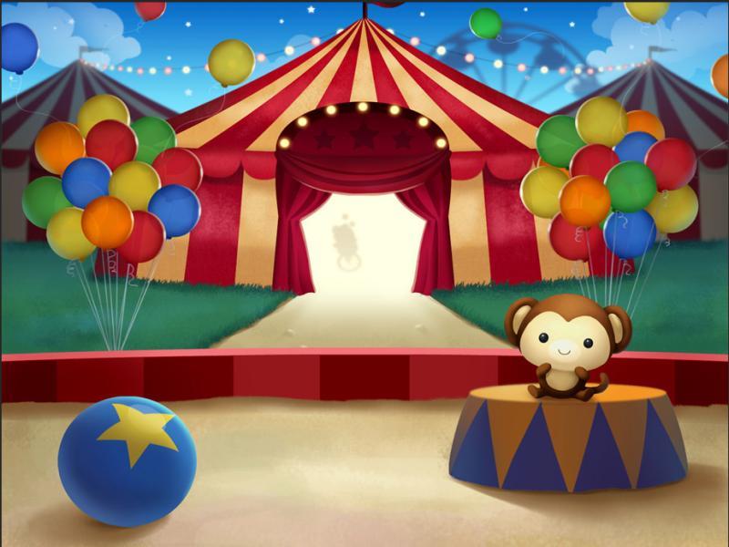 Popular Circus Slides Backgrounds