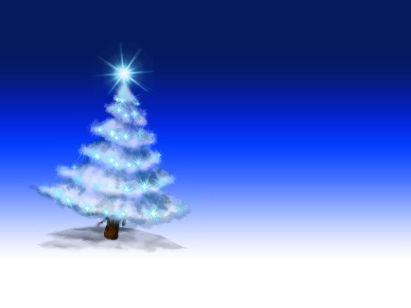 Powerpoint Blue Christmas Christmas Design Christmas Backgrounds