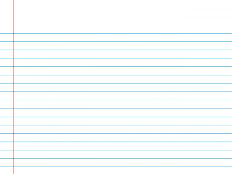 Primary school lined notebook Backgrounds