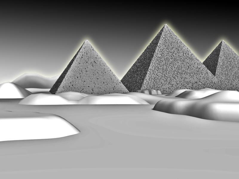 Pyramid Floor Backgrounds