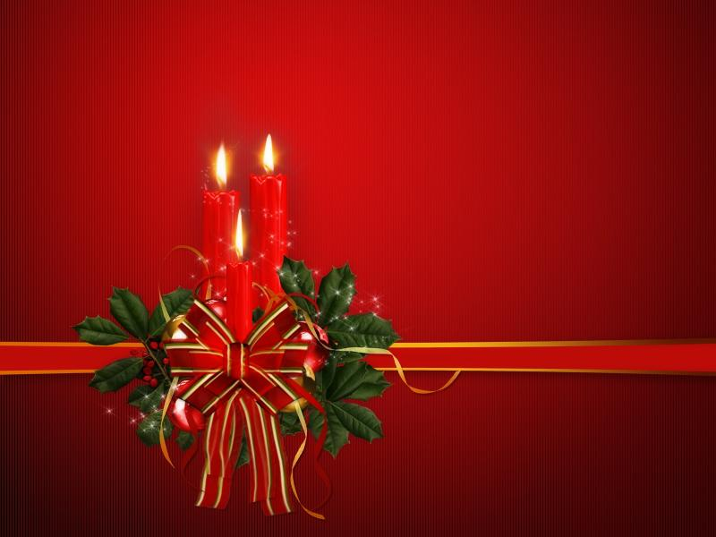 Red Free Christmas Picture Backgrounds