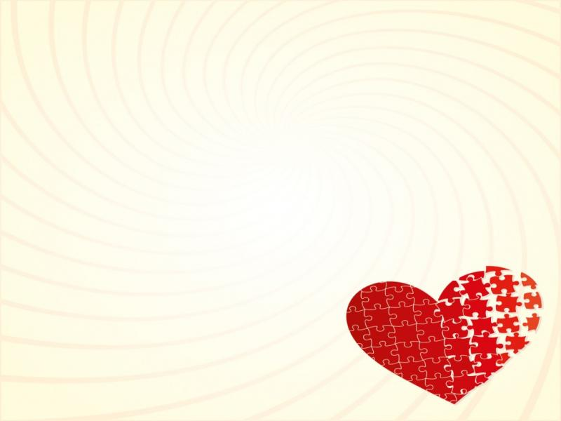 Red Heart For Love Backgrounds