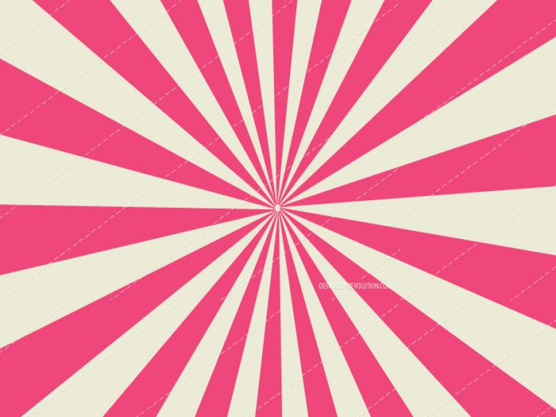 Retro Colored Sunburst Vector Free Vector Art   Slides Backgrounds