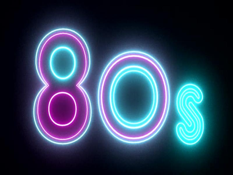 Romantic 80s Presentation Backgrounds For Powerpoint Templates Ppt