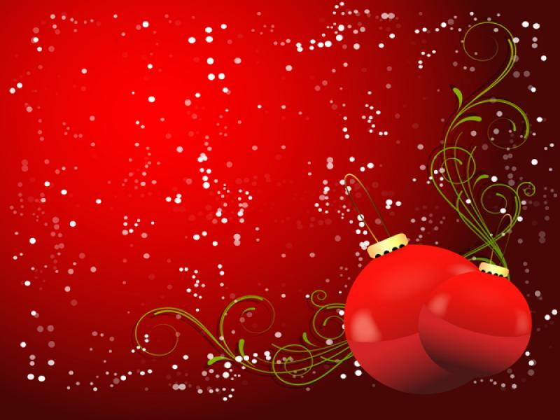 Romantic Christmas Art Backgrounds For Powerpoint Templates Ppt
