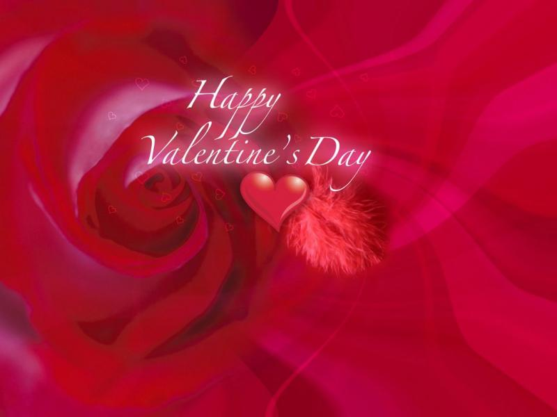 Rose Valentines Day Download Backgrounds For Powerpoint Templates