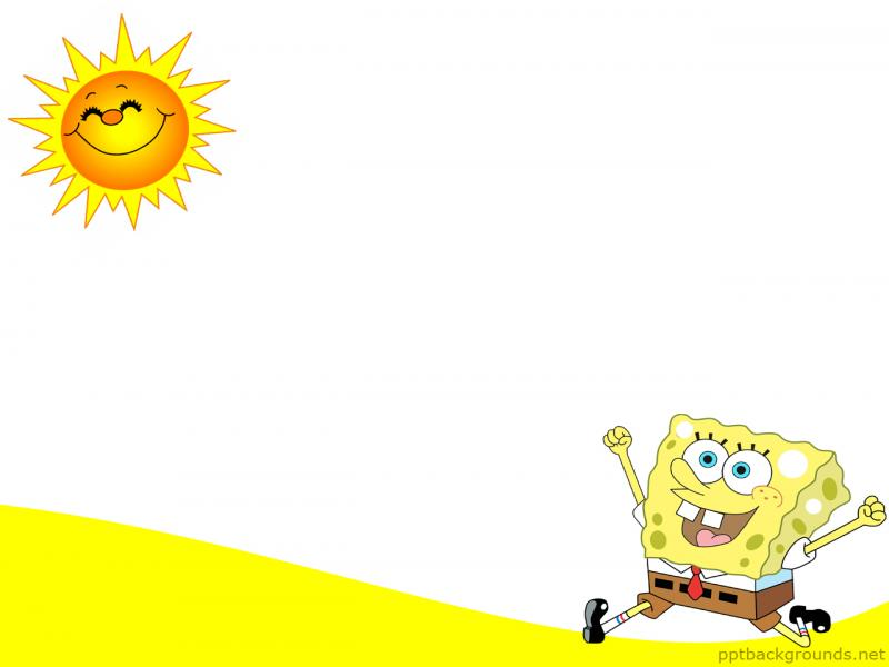 Running In The Sun For Powerpoint Cartoons Design