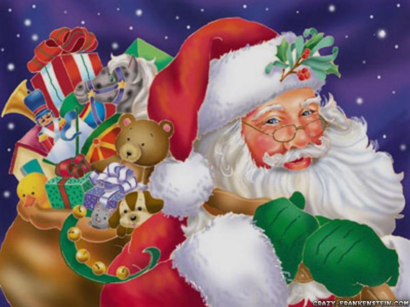 Santa Claus Clipart Backgrounds