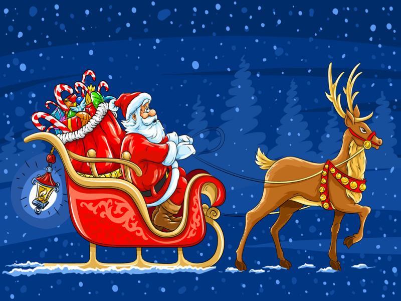 Santa Claus Design Backgrounds