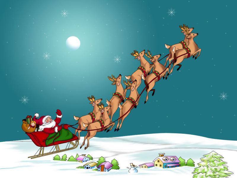 Santa Claus image Backgrounds