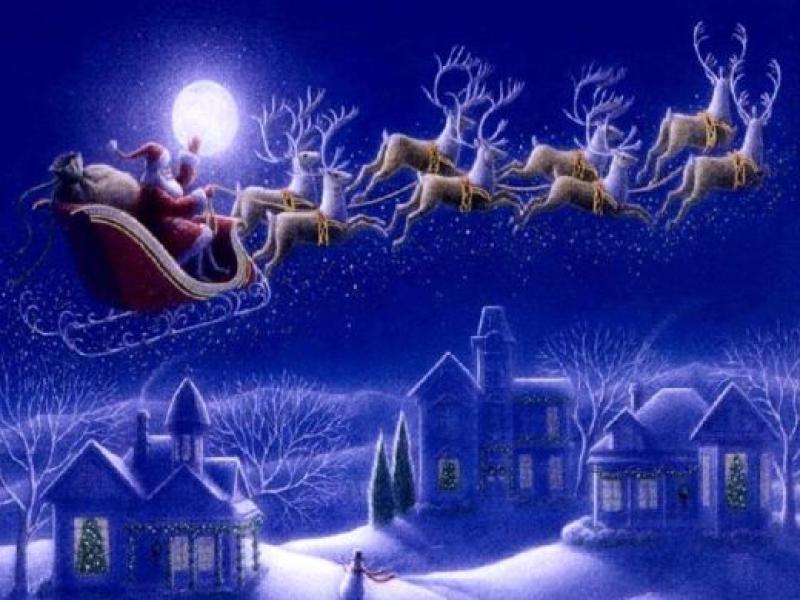 Santa Claus Photo Backgrounds