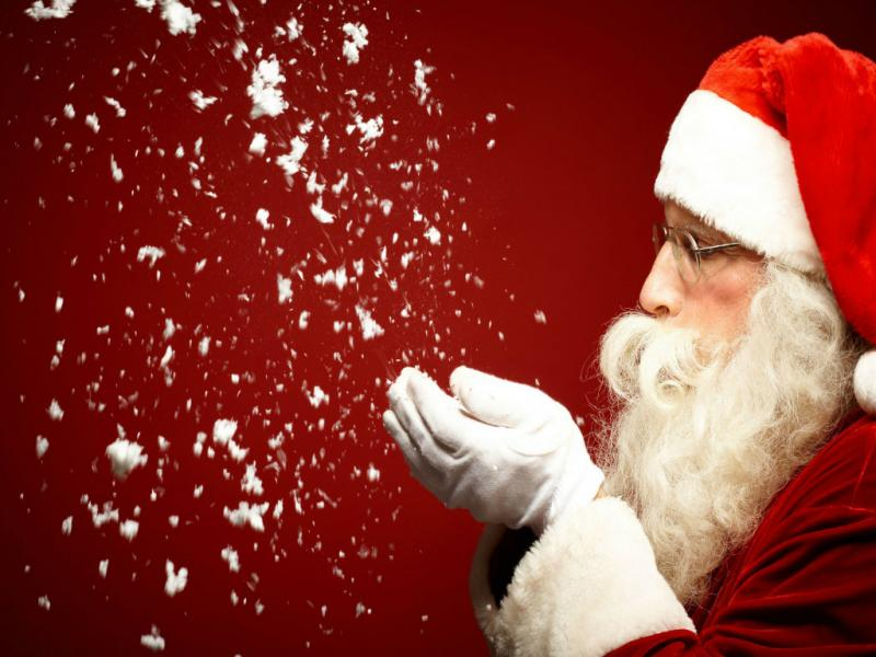 Santa Claus Template Backgrounds