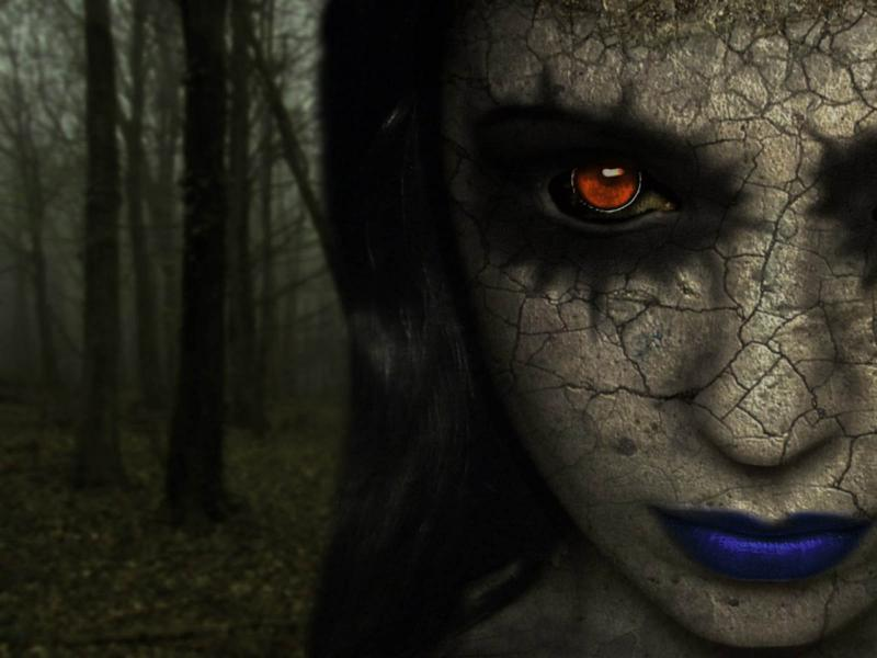 Scary Horrors Quality Backgrounds For Powerpoint Templates
