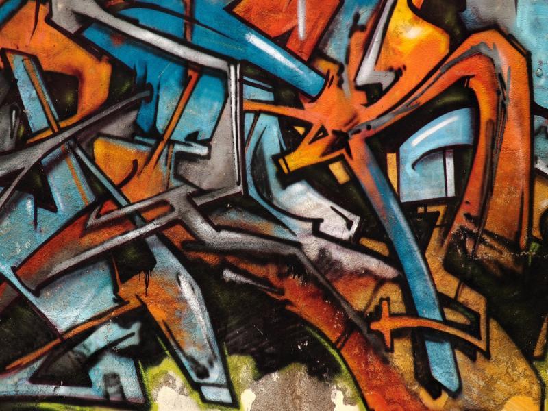 Scrap Graffiti Image Art Backgrounds