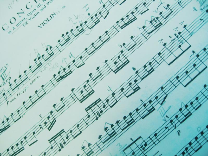 Sheet Music Tumblr Sheet Music 1 By Kerbi Stock Presentation Backgrounds