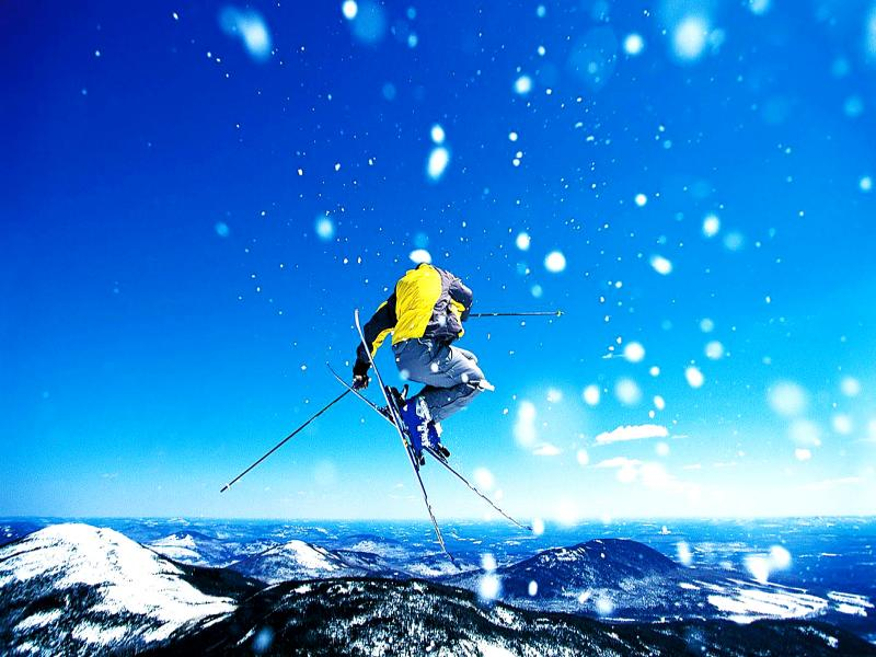 Skiing Winter Sports Hd Backgrounds