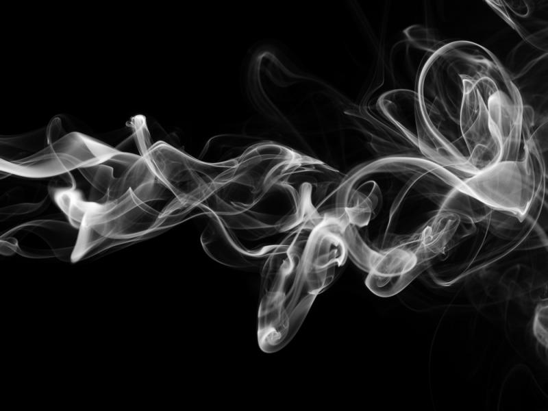 Smoke Wallpaper Backgrounds For Powerpoint Templates Ppt