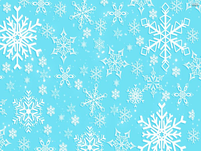 Snowflake Template Backgrounds