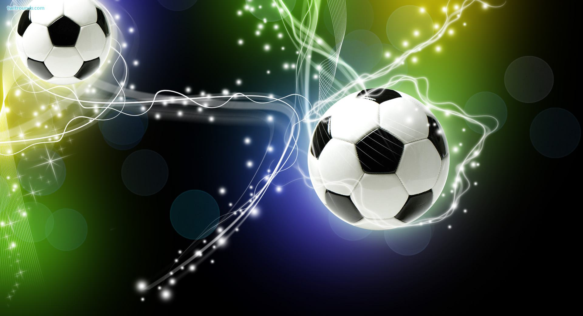 Soccers with Ball Backgrounds