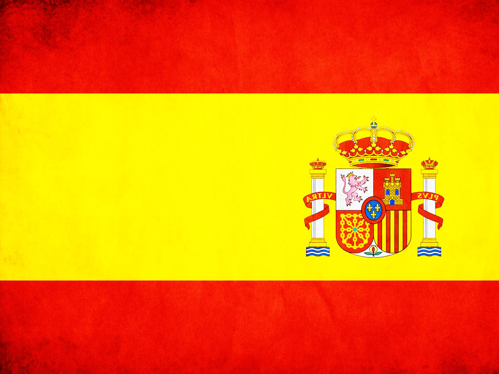 spain flag backgrounds for powerpoint templates - ppt backgrounds, Modern powerpoint