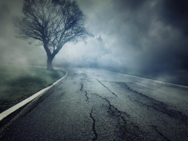 Spooky Highway Wallpaper Backgrounds