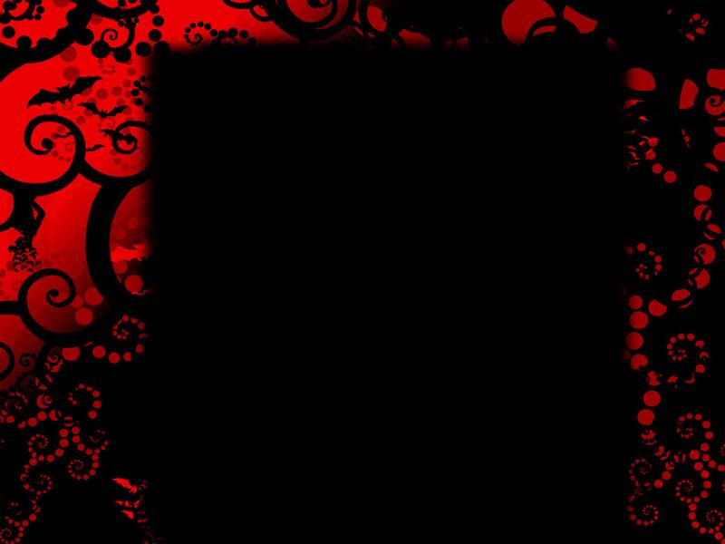 Spooky Red Black Backgrounds