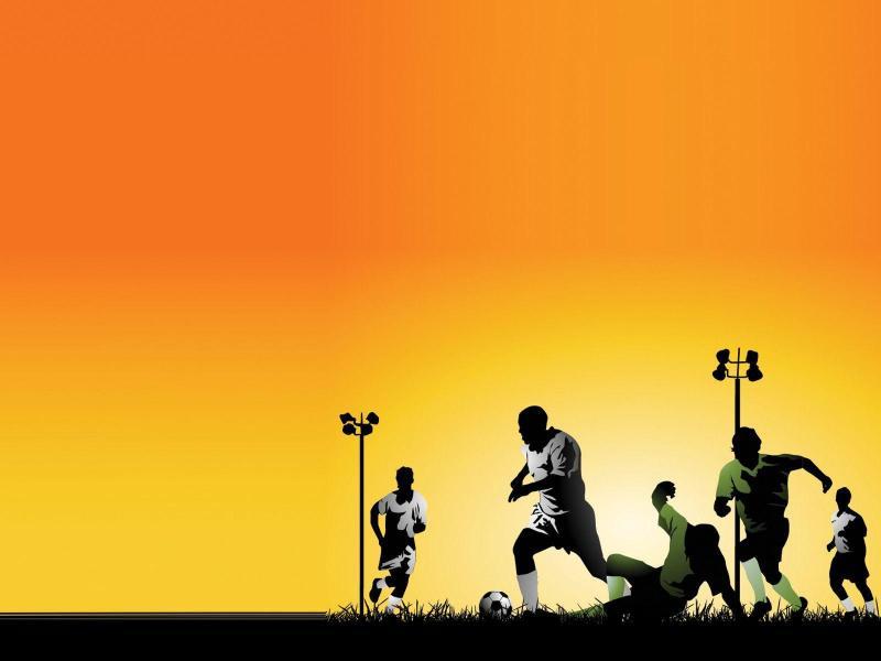 Sports Light Presentation Backgrounds