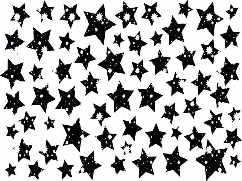 Stars Black and White Download Backgrounds