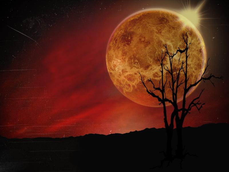Sunset Dark Clipart Backgrounds